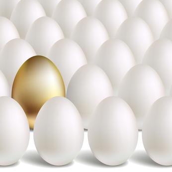 De kip met de gouden eieren